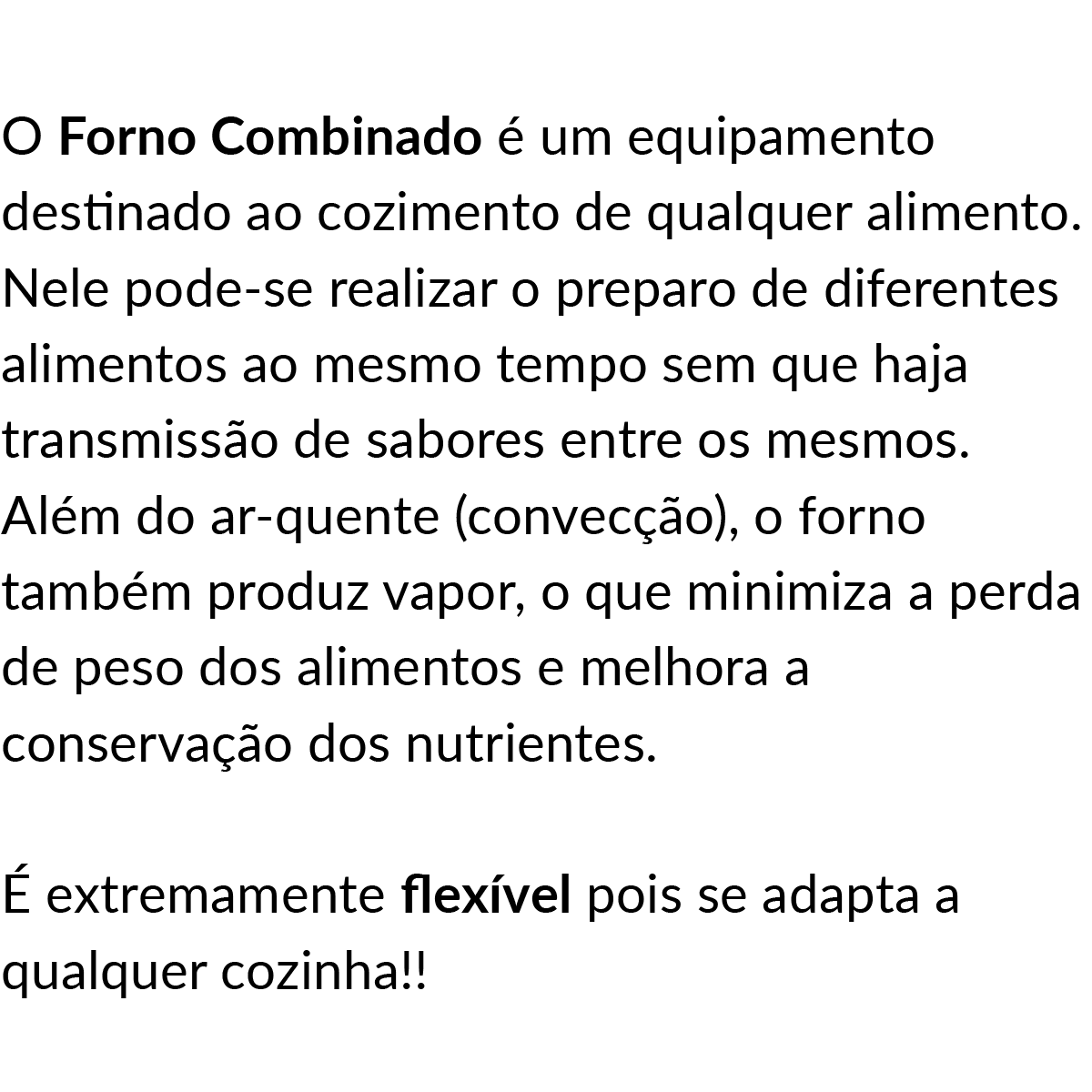 VÍDEOS: DEMONSTRAÇÃO DO FORNO COMBINADO