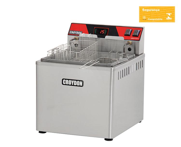 Fritadeira Elétrica de Mesa 8000w Digital (Zona Fria)