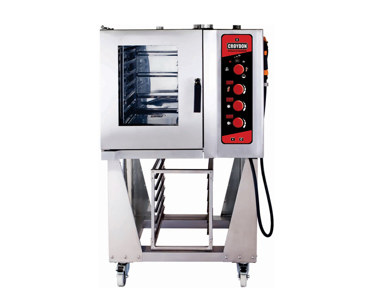Forno Combinado 6 GNs 1/1 (aquecimento elétrico)