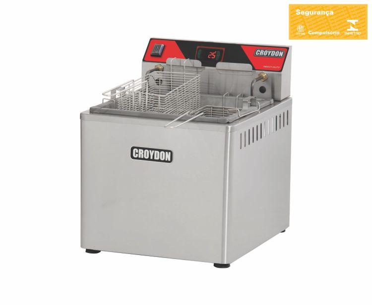 Fritadeira Elétrica de mesa 5000w Digital (Zona Fria)