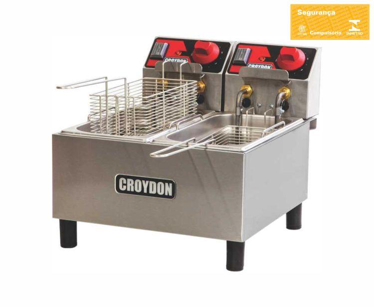 Fritadeira Elétrica (2x3 litros)