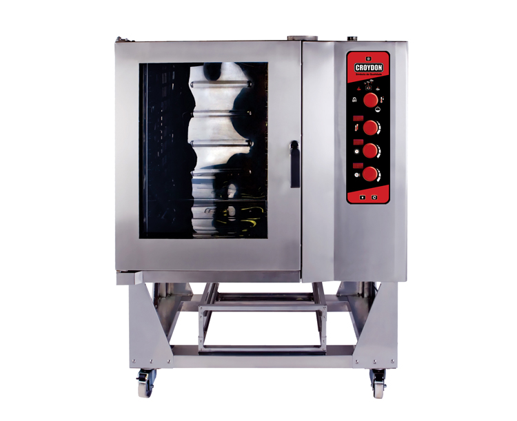 Forno Combinado 10 GNs 2/1 (aquecimento elétrico)