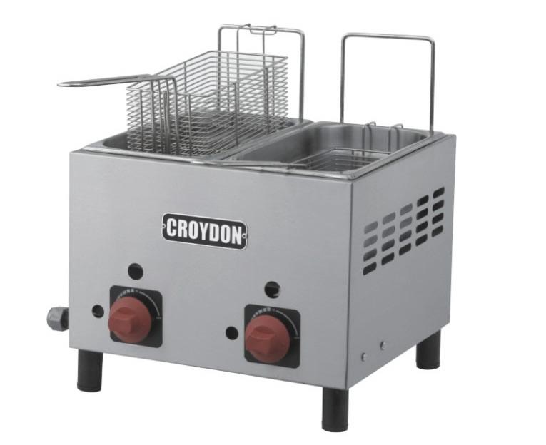 Fritadeira Gás (2x3 litros)